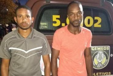 Dois homens são presos e carro roubado é recuperado durante operação | Divulgação| SSP