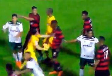 Vitória se pronuncia sobre brigas na final da Sub-20 | Reprodução | FBF