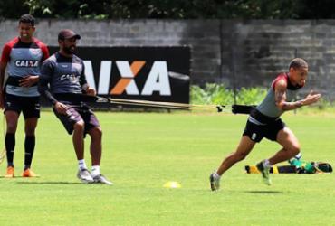 Vitória foca no Corinthians e treina em dois turnos na Toca | Maurícia da Matta | EC Vitória