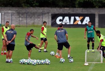 Vitória se reapresenta e treina de olho no São Paulo