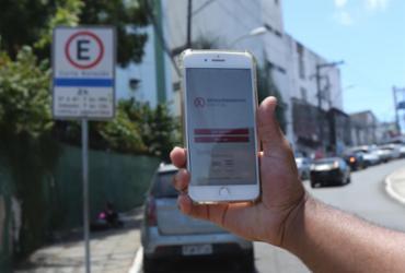 Zona Azul Digital começa a valer em Salvador a partir desta segunda | Margarida Neide | Ag. A TARDE