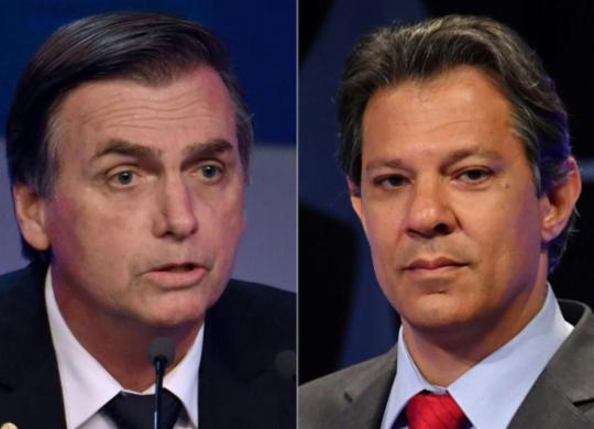 PF abre inquérito para investigar fake news envolvendo candidatos | Nelson Almeida l AFP