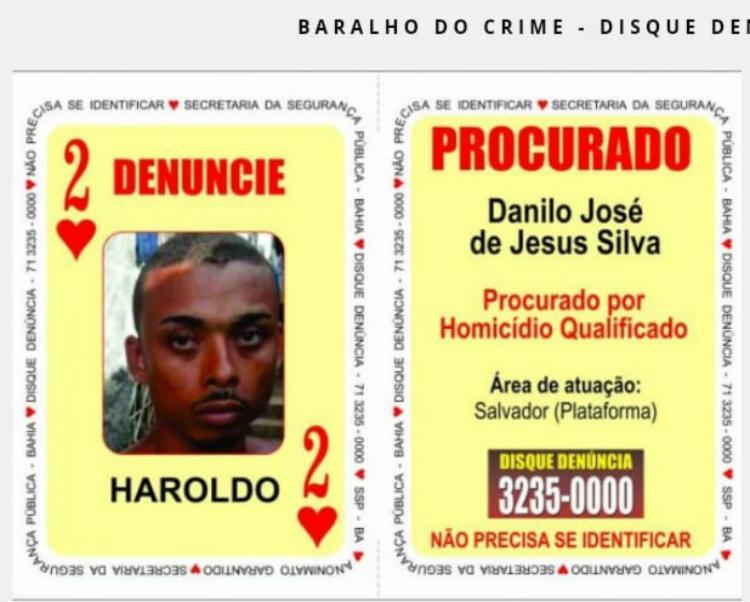 Danilo José de Jesus Silva possuía mandado de prisão em aberto - Foto: Divulgação | SSP-BA