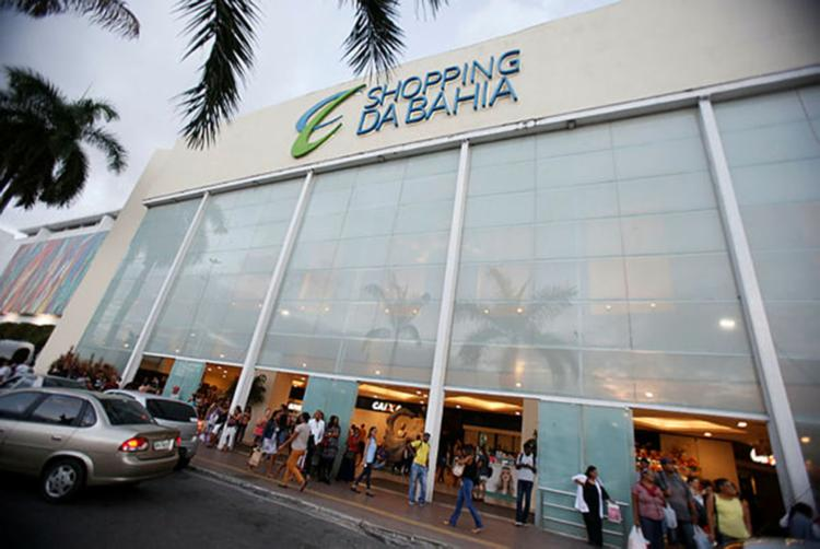 Lojas de shoppings estão fechadas - Foto: Joá Souza | Ag. A TARDE