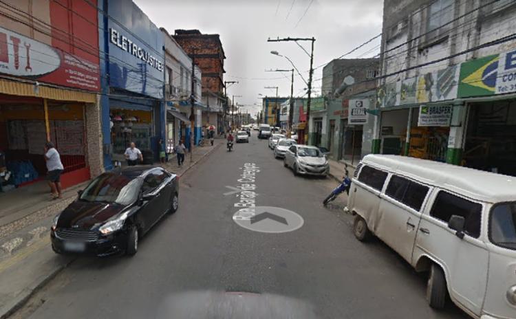 Acidente ocorreu no início da tarde deste domingo,7, e o trânsito segue intenso na região - Foto: Reprodução| Google Maps