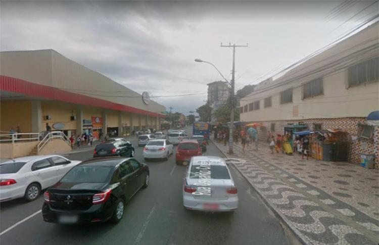 Acidente ocorreu na rua Oswaldo Cruz - Foto: Reprodução   Google Maps