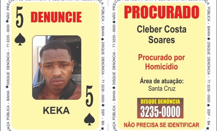 Cleber conhecido como Keka, morreu em confronto com policias em Eunápolis - Foto: Divulgação | SSP-BA