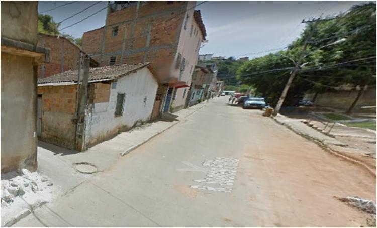 Crime ocorreu na localidade conhecida como Fonte da Bica - Foto: Reprodução   Google Maps