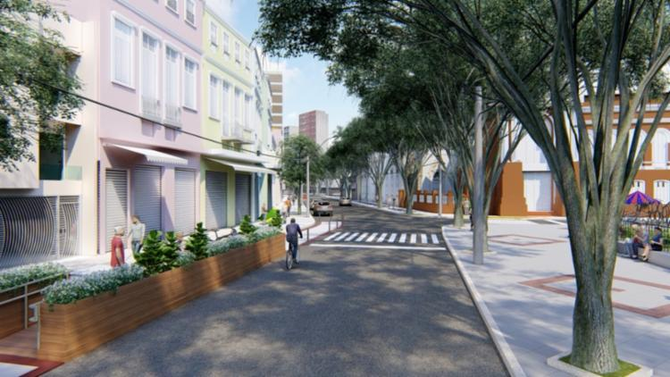 Praça da Piedade ganhará novo visual após conclusão das obras - Foto: Divulgação