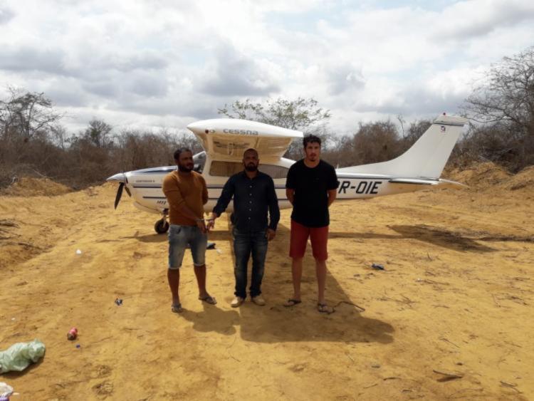 Trio foi autuado na fazenda, que fica na região da Baixa do Cocá, no dia 20 de outubro