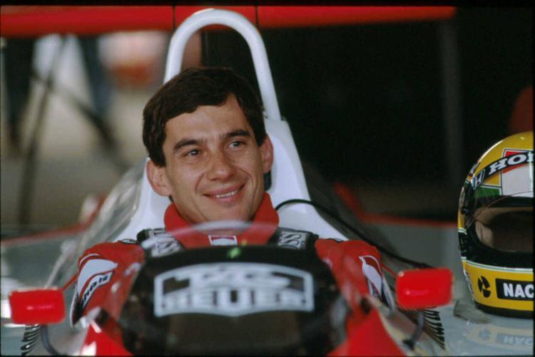 O piloto brasileiro antes da prova que lhe rendeu o título de 1988 - Foto: Divulgação