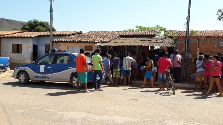 O autor do crime fez vários disparos e um deles acertou José - Foto: Blogbraga | Repórter Ivonaldo paiva