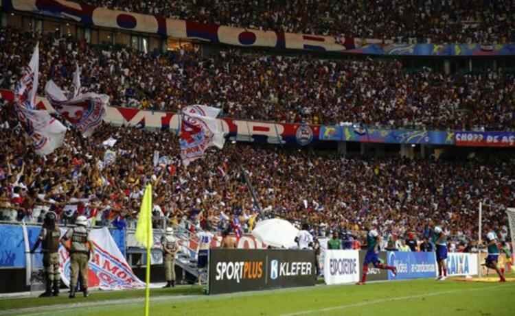 A Arena tem capacidade para 50mil pessoas - Foto: Felipe Oliveira | EC Bahia