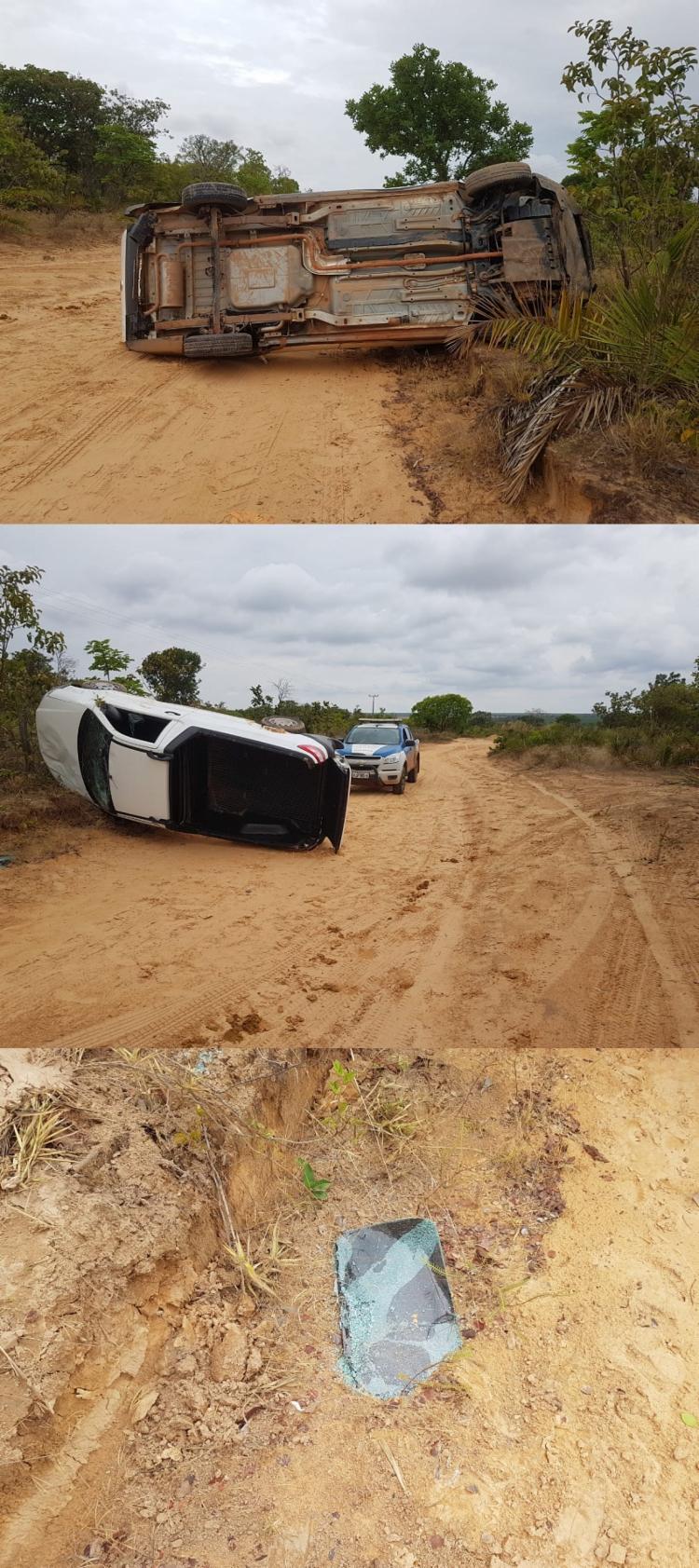 O automóvel que é assegurado será removido do local e apresentado na Delegacia de Polícia Civil