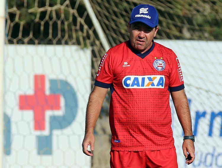O treinador acredita no apoio da torcida para apoiar e empurrar o time - Foto: Felipe Oliveira | EC Bahia