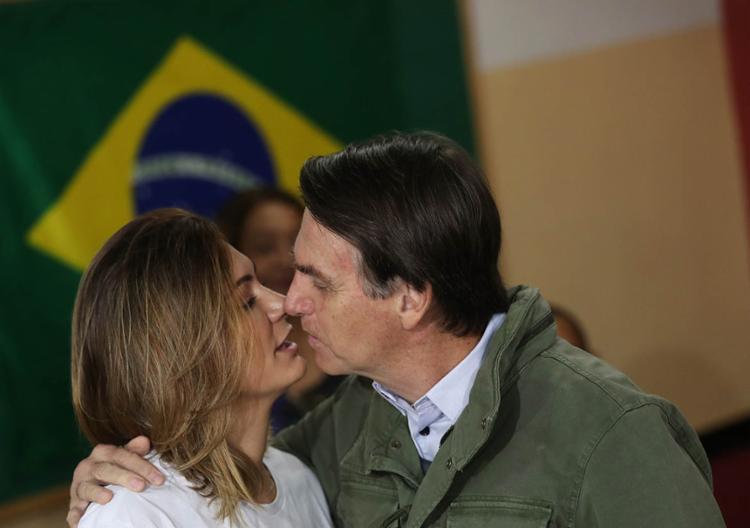 Os votos em branco somaram 2,14%, nulos totalizaram 7,43% e a abstenção foi de 21,30% - Foto: Ricardo Moraes   POOL   AFP