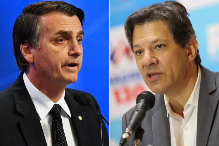O debate com Bolsonaro e Haddad da emissora seria na noite desta sexta-feira - Foto: Nelson Almeida | AFP | Ulisses Dumas | Divulgação