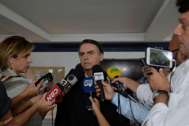 Bolsonaro também acenou participação no governo para os evangélicos - Foto: Tânia Rêgo l Agência Brasil