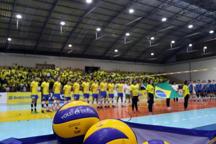 Na edição de 2018, ano inaugural da competição, ambas as equipes brasileiras terminaram em quarto lugar - Foto: Ana Patrícia | Inovafoto | CBV