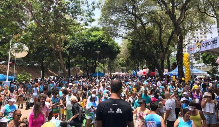 Evento reúne centenas de cachorros e seus donos na praça central da avenida Centenário - Foto: Divulgação