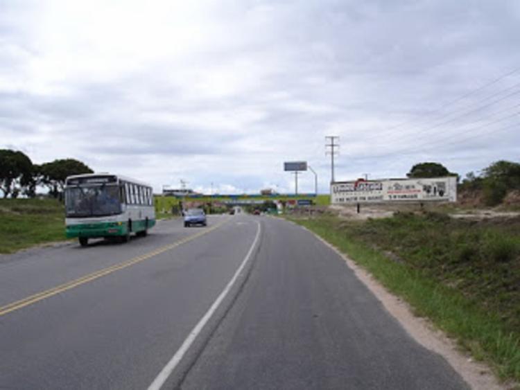 O acidente aconteceu próximo à fábrica Bridgestone - Foto: Reprodução