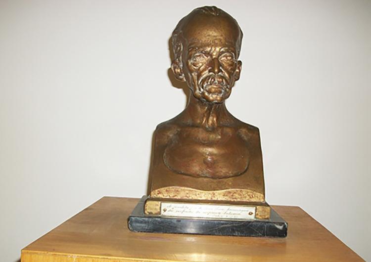 Busto de bronze do jurista baiano foi uma das peças furtadas - Foto: Divulgação