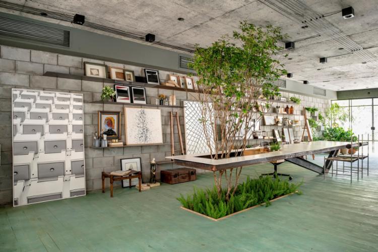 A Oficina do Artista foi criada por Anna Fernandes, Guido Ramos e Marcelo Bezerril, da GAM Arquitetos