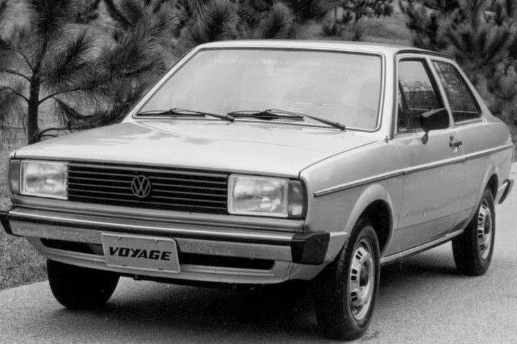 Volkswagen Voyage nasceu em 1980, junto com o Fiat Oggi - Foto: Divulgação