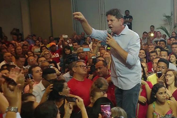 Ele cobrou que o PT faça um mea culpa para conquistar o apoio do eleitorado - Foto: Reprodução | YouTube | Diário do Nordeste