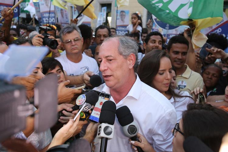 Ciro lidera no Ceará e é terceiro na maioria dos estados - Foto: Luciano Carcará l Ag. A TARDE