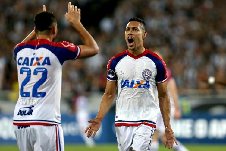 Desde o primeiro jogo de agosto, o Tricolor balançou as redes 13 vezes - Foto: Felipe Oliveira | EC Bahia