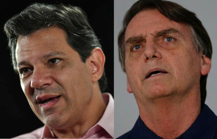 A diferença caiu, mas continua grande - Foto: Nelson Almeida   AFP e Fernando Frazão   Agência Brasil