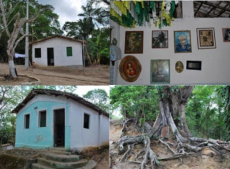 Terreiro teve parte de seu patrimônio religioso destruído pela queda de uma árvore sobre o peji - Foto: Divulgação