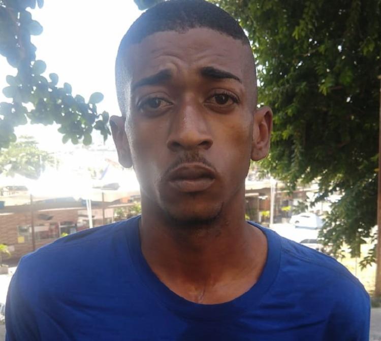 Genivaldo Freitas foi detido em flagrante na região conhecida como Alto da Bola - Foto: Divulgação  SSP-BA