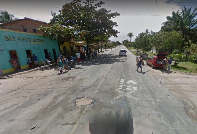 Crime foi cometido na casa da vítima, no bairro Santo Antônio - Foto: Reprodução | Maps