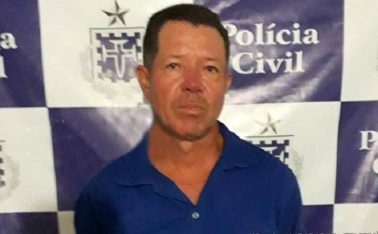 Eguimar Ferreira de Souza foi preso na tarde desta sexta, 26, em Porto Seguro - Foto: Divulgação