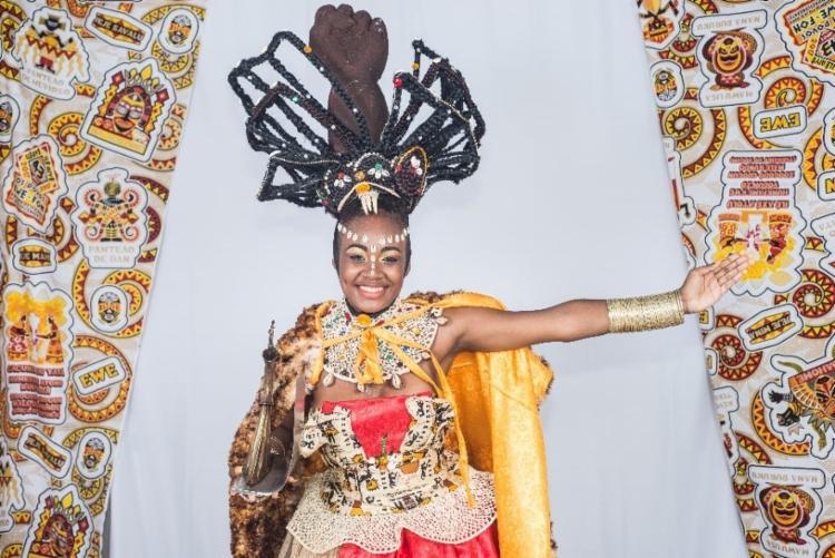 Jéssica Nascimento é a atual Deusa do Ébano - Foto: Divulgação