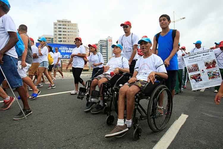 O objetivo do curso é qualificar as pessoas com deficiência para atuação no mercado de trabalho - Foto: Alessandra Lori | Ag. A TARDE