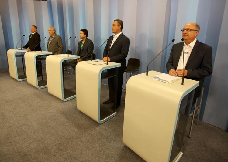 Rede Bahia foi palco do penúltimo debate do ano - Foto: Tiago Caldas l Ag. A TARDE