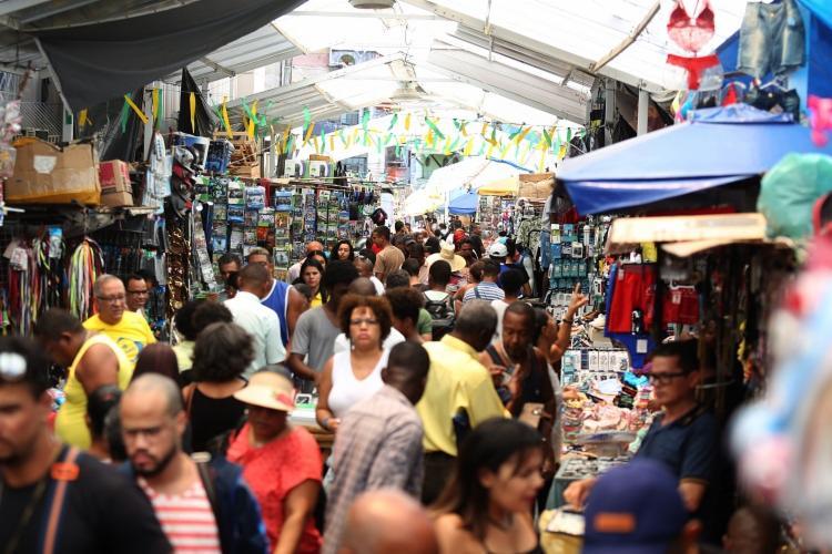 Dia dos Comerciários será comemorado na próxima segunda-feira,22 - Foto: Joá Souza | Ag. A TARDE