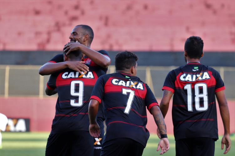 A partida de ida das semifinais irá acontecer, às 15h, no Estádio Morada dos Quero-Queros, em Alvorada - Foto: Maurícia da Matta | EC Vitória