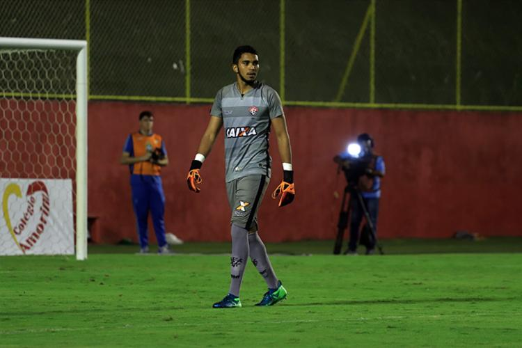 Lucas estava naquele elenco que foi Campeão da Copa do Brasil Sub-17 em 2015 - Foto: Maurícia da Matta | EC Vitória