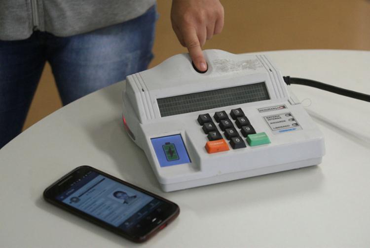 Identificação biométrica atingiu 73,7 milhões de eleitores em 2018 - Foto: Luciano Carcará | Ag. A TARDE