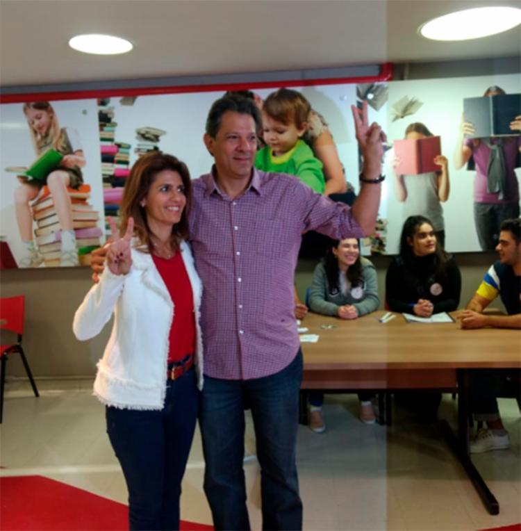 Presidenciável votou acompanhado da esposa Ana Estela - Foto: Nana Matos | A TARDE SP