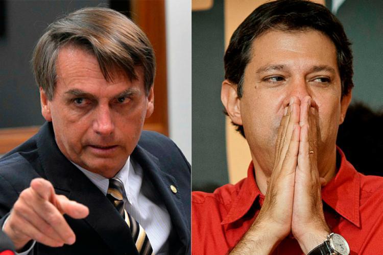 Desde quinta-feira, Bolsonaro tem investido no eleitorado petista do Nordeste - Foto: Marcelo Camargo | ABr e Wilson Dias | Agência Brasil