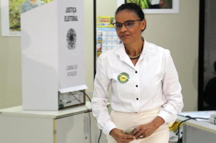 A ex-senadora ressaltou que respeita a decisão dos eleitores - Foto: Leo Cabral   AFP