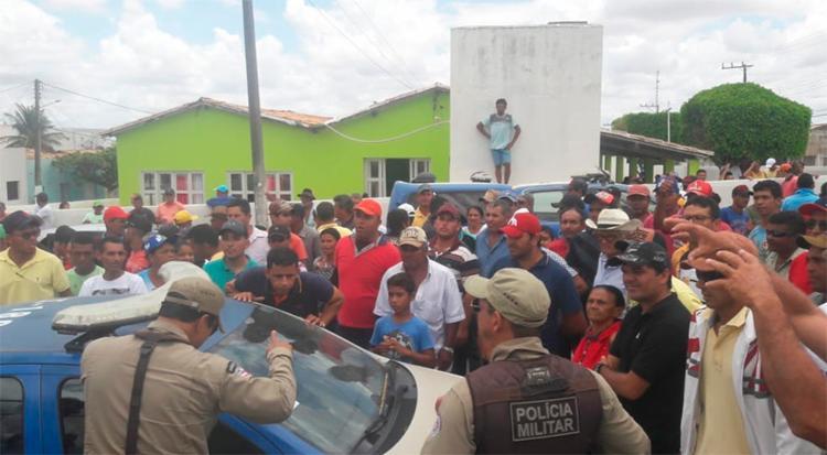 O candidato Justino Santana de Melo permanece na delegacia para esclarecimentos - Foto: Divulgação   SSP-BA