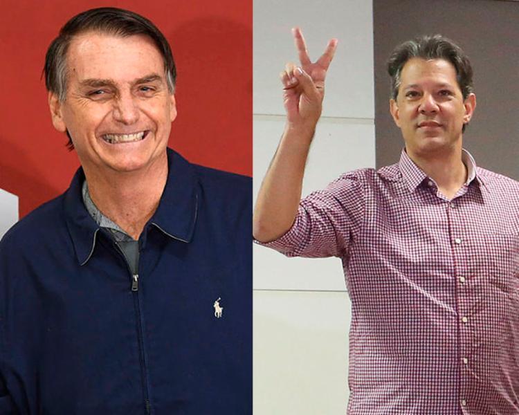 Os dois candidatos possuem propostas de governo distintas - Foto: Mauro Pimentel | AFP e Fabio Vieira | Estadão Conteúdo
