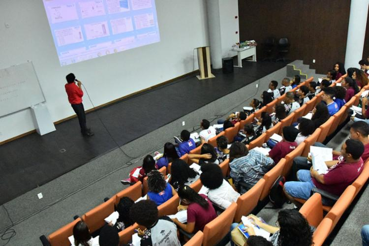 O ciclo reunirá cerca de 1.600 alunos de 40 colégios da rede estadual de Salvador - Foto: Claudionor Jr   ASCOM