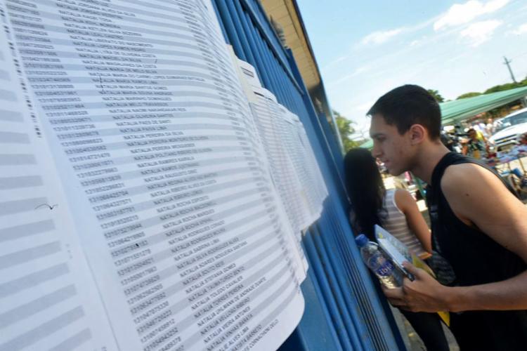 As provas serão aplicadas nos dias 4 e 11 de novembro - Foto: Marcello Casal l Agência Brasil l Arquivo